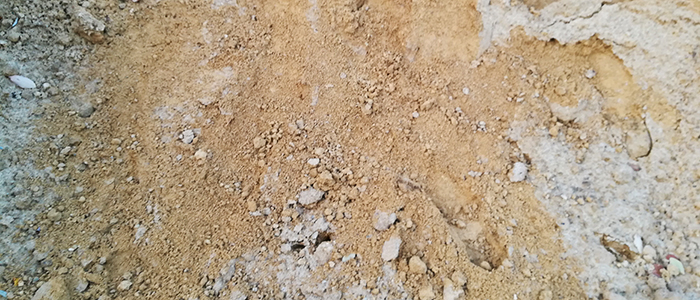 Gesiebter Sand